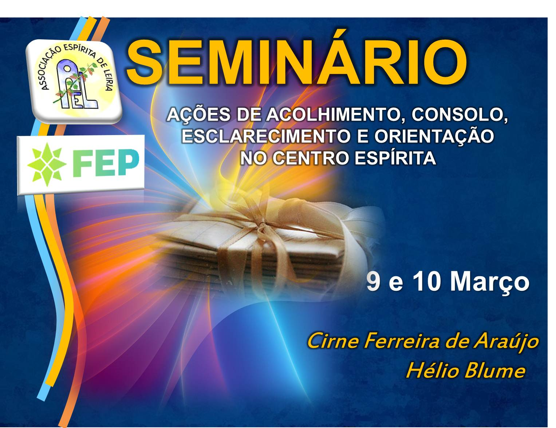 seminário março 2013