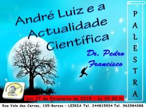 Palestra - Dr. Pedro Francisco